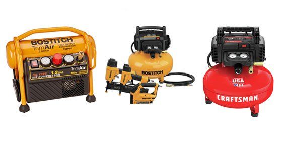 BOSTITCH Vs DEWALT Vs Craftsman Air Compressor