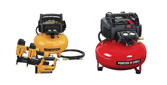 BOSTITCH vs Porter-Cable Air Compressors